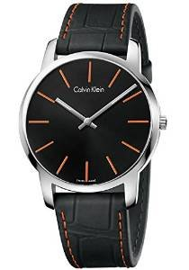 Calvin Klein K2G211C1 Ck City Mens Watch - Black Dial