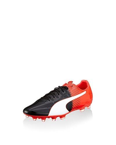 Puma Fußballschuh Evospeed Sl-s Ii Ag schwarz/rot/weiß