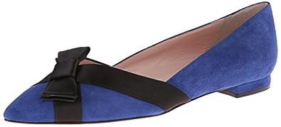 kate spade new york Women's Bari Ballet Flat,Cobalt,5 M US