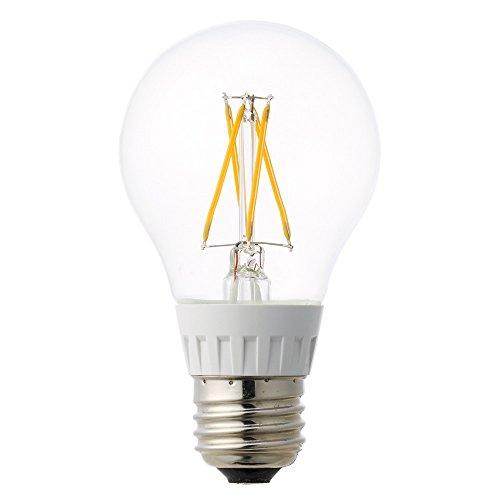 ルミナス LED電球 クリアタイプ 広配光 40W相当 電球色 528lm 口金E26 LDOA40L-G