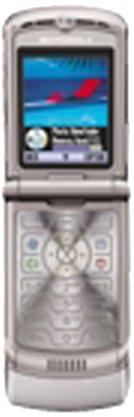 Motorola Motorazr V3 EDGE Handy in silber