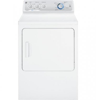 7.0 Cu. Ft. Capacity DuraDrum Electric Dryer with HE Sensor Dry - White