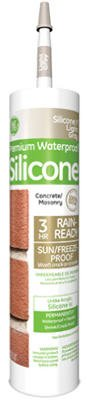Momentive Perform Material GE5020 9.8-oz. Silicone II Concrete/ Masonry Sealant, Gray