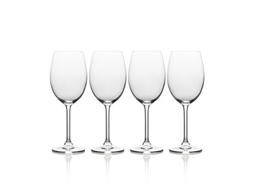 Mikasa-Julie-White-Wine-Glass-Set-of-4-165-oz-Clear