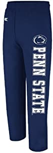 Buy Penn State Nittany Lions Blue Open Bottom Sweatpants by Colosseum by Colossuem