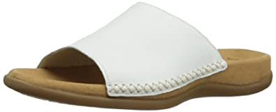 Gabor Women's Eagle White Slides Sandal 63.705.21 3 UK