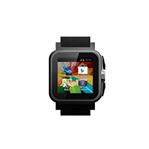 Simvalley AW-414.Go Smartwatch Omate Pebble Style Android 4.2 Smart Watch Phone ★TRULY NEXT-GEN TECHNOLOGY★UNLOCKED★EST 2014 VERSION from Simvalley