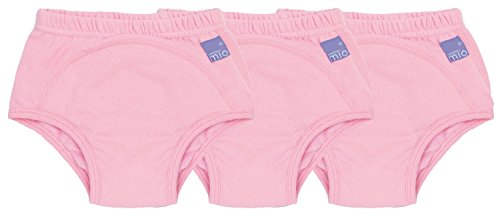 Bambino Mio Potty Training Pants Mixed Pack, Pink, 2-3 Years, 3 Count