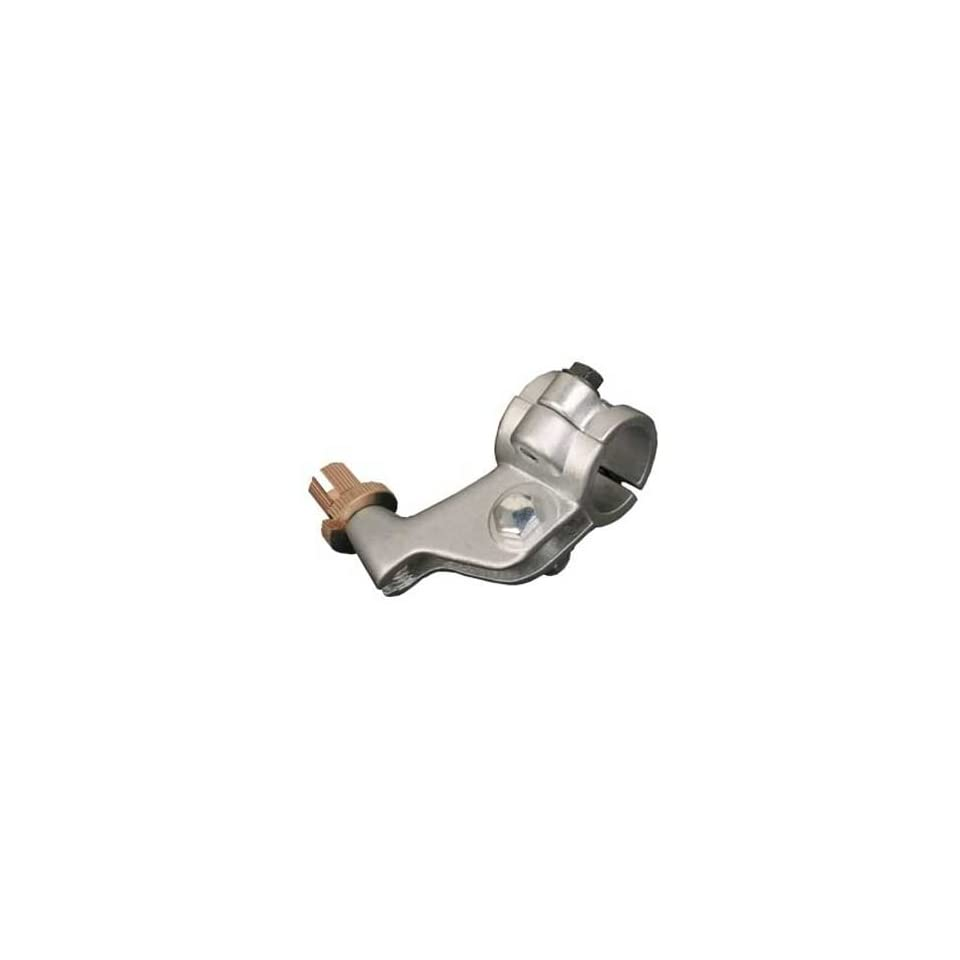 ASV Inventions CLM02Q-S C5 Silver Quad Universal Standard Perch Clutch Lever with Hot Start