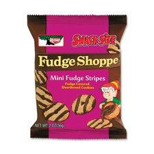 Keebler Fudge Stripes Cookies 2 Oz (Pack of 8)