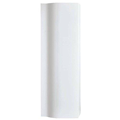 Phoenix Wave Tall Cupboard - White UN083