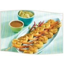 King and Prince Grillmaster Skewer Shrimp, 7 2.6 Ounce -- 72 per case. by King And Prince Seafood