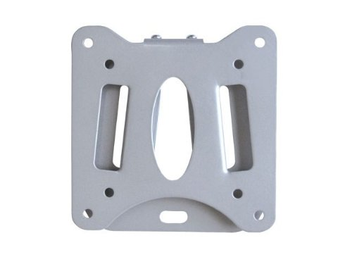 Monoprice 106429 Low Profile Wall Mount Bracket For 10-23 Inches Lcd/Led, Silver