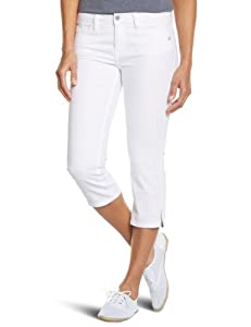 Oxbow Dimitri Pantacourt stretch fit femme Blanc FR : 42 (Taille Fabricant : 32)