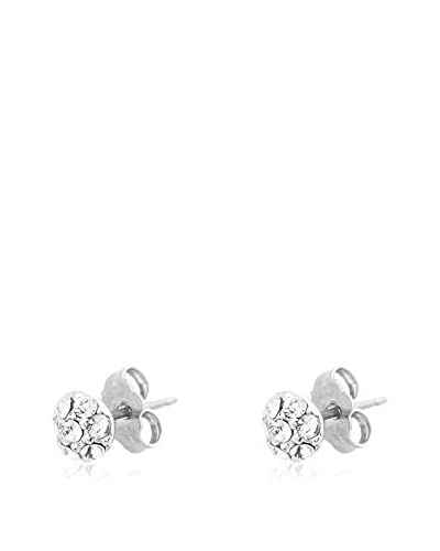 Passion Obscure Pendientes Strass Half-Ball