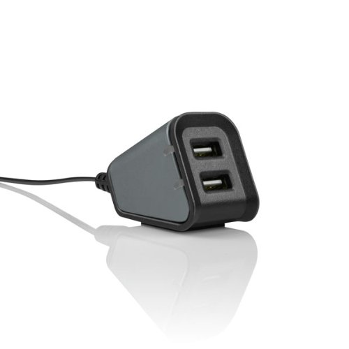 Incipio Dual Usb Desktop Charger - Retail Packaging - Graphite