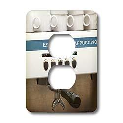 3dRose lsp_82604_6 Espresso Machine, Café, Stockholm Sweden Eu28 Pka0077 Per Karlsson 2 Plug Outlet Cover made by 3dRose LLC