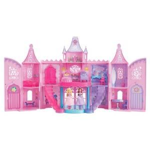Toy / Game Animated Barbie The Princess & The Popstar Musical Light Up Castle Playset X4315 (For 3 Years Old)