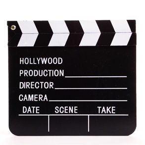 Wooden Directors Clapboard