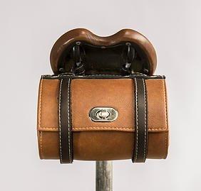 Hazel Design - Vintage Bicycle Saddle Tools Bag 1