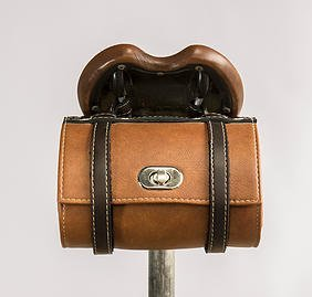 Hazel Design - Vintage Bicycle Saddle Tools Bag 1