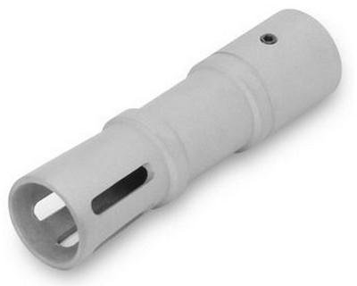 Ncstar Ruger 10/22 Long Muzzle Brake/Silver (Am1022Sl)