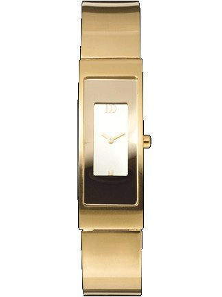 Ladies Gold Plated Titanium Quartz Bangle Watch Iv05q709