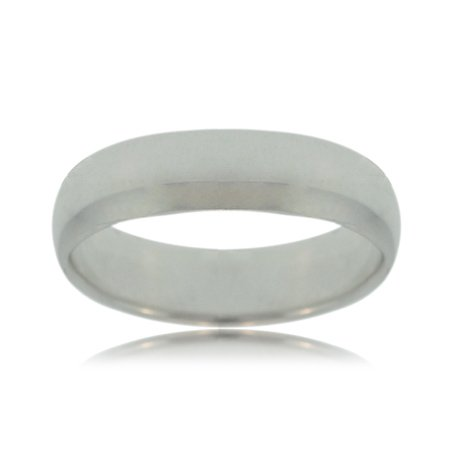 Wedding Ring Sterling Silver Solid Unisex Polished Band