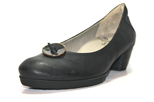 Think Nola 80170 Damen Pumps (41, Schwarz (nero))
