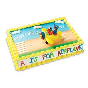Amazon.com: Sesame Street Grover & Elmo Plane Cake Kit ...