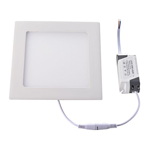 Mudder 12W 6.7*6.7Inch 2835 Smd Led Warm White Light Square Recessed Ceiling Panel Down Light Lamp