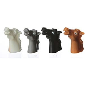Vinyl Horse Finger Puppets [Toy] by FX