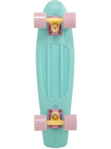 Buy Discount Penny Pastel Complete Skateboard, 22-Inch, Mint/Lemon/Lilac