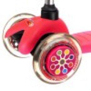 Accessoire Trottinette Micro Enjoliveur Wheel whizzer Neon dot