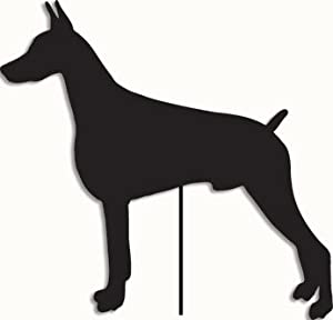 Doberman Pinscher Garden Stake / Garden Decor / Garden Art