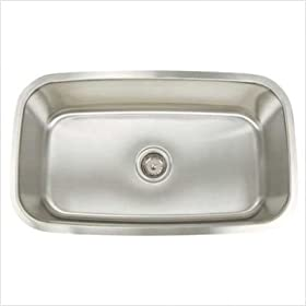 Artisan AR3118-D9 Premium Series Stainless Steel Undermount Single Bowl Sink