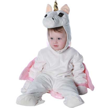 Toddler Girls Classic Unicorn Costume - Small