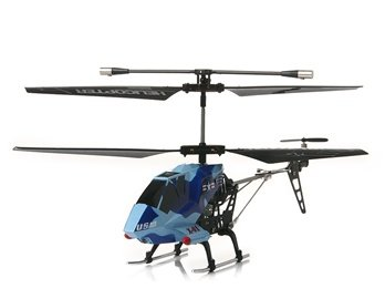 XINXUN X01 3.5-Channel Infrared RC Helicopter (Blue)