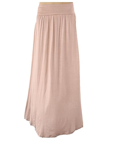 Fitted Maxi Skirt front-1058323