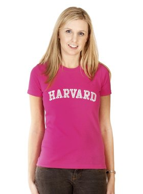 UrbanPup Legally Blonde ''HARVARD'' Women's T-Shirt (Small - Chest Size: 32