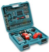 MAKITA 8391DWPETK 18V Combi Drill and 101 Piece Accessory Set