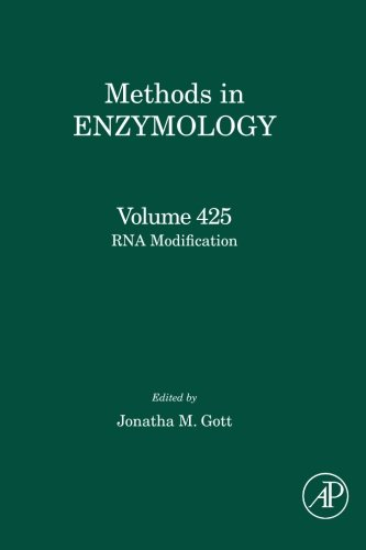 Rna Modification (Volume 425)