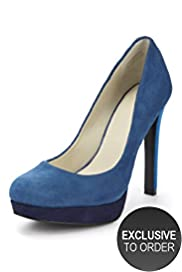 Autograph Suede Platform Court Shoes with Insolia®