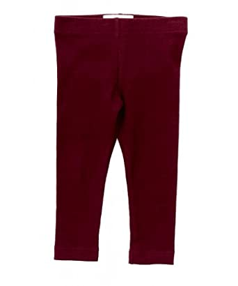 Peek... Baby Girl's Natalie Legging-M-Burgundy