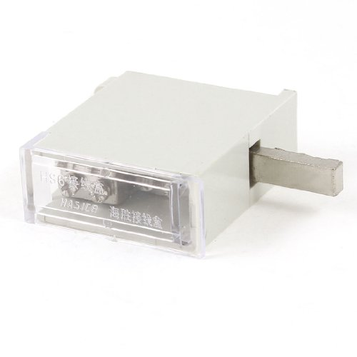 63A One Inlet Four Outlet Wire Contact Pin Type Terminal Junction Box