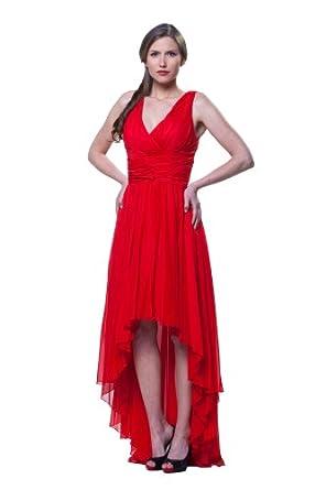 Kleider vorne kurz hinten lang rot bilder