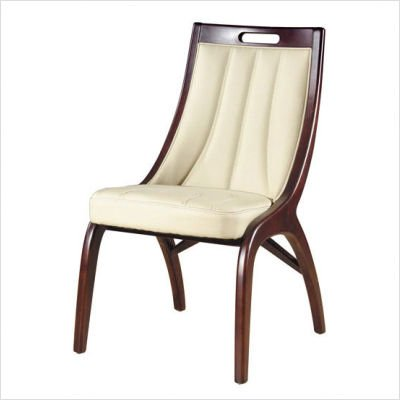 Buy Low Price International Design USA Barrel Leather Dining Chair (Set of 2) (C735)