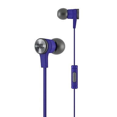 Ty Jbl? E10 In Ear Headphones With Mic For Iphone Ipad Android Mobile Phone , Blue