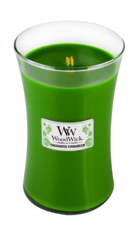WoodWick Enchanted Evergreen Large Jar Candle