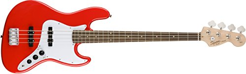 squier-affinity-jazz-bass-guitar-race-red
